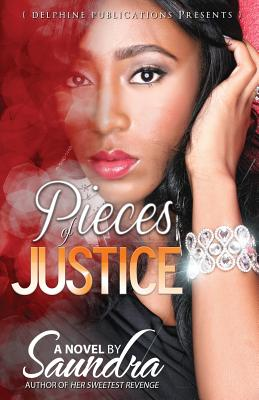 Book Cover Pieces of Justice by Saundra