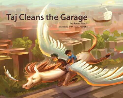 Click for more detail about Taj Cleans the Garage by Renee Prewitt Killingsworth