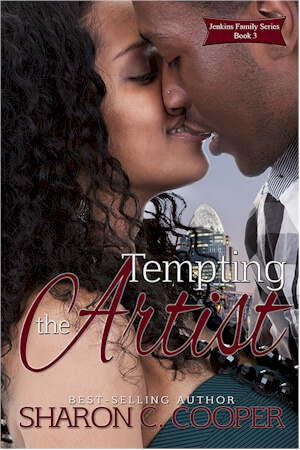 Click for more detail about Tempting the Artist (Jenkins Family Series) (Volume 3) by Sharon C. Cooper