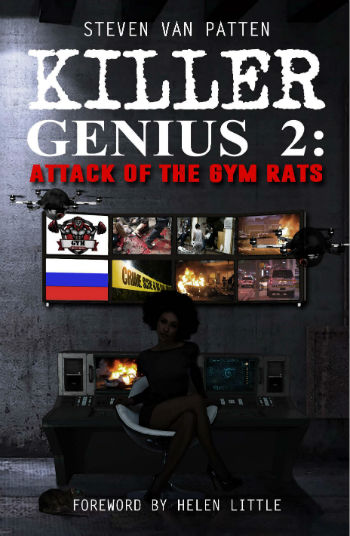 Book Cover Killer Genius 2: Attack Of The Gym Rats by Steven Van Patten