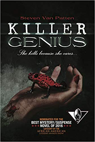 Book Cover Killer Genius: She Kills Because She Cares  by Steven Van Patten