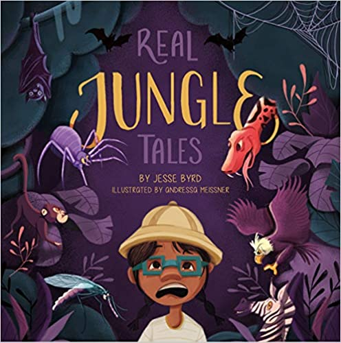 Click for more detail about Real Jungle Tales by Jesse Byrd