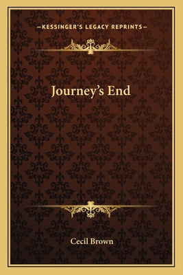 Click for more detail about Journey's End by Cecil Brown