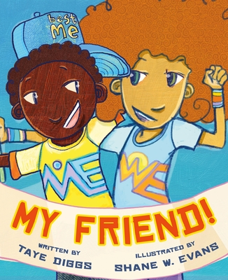 Book Cover My Friend! by Taye Diggs
