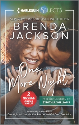 Book Cover One More Night by Brenda Jackson and Synithia Williams