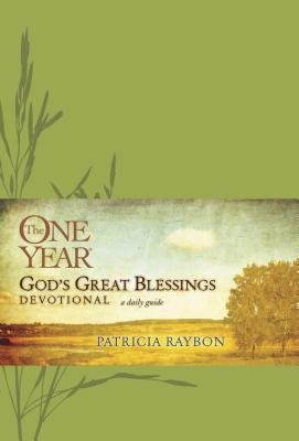 Book Cover The One Year God's Great Blessings Devotional by Patricia Raybon