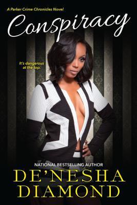 Book Cover Conspiracy (Parker Crime) by De'nesha Diamond