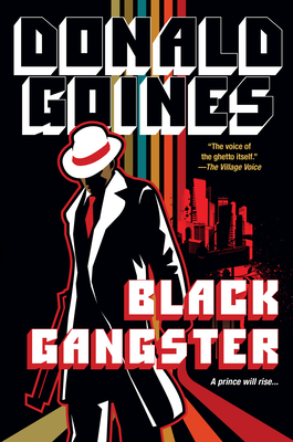 Book Cover Black Gangster by Donald Goines
