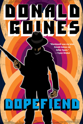 Book Cover Dopefiend by Donald Goines