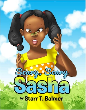 Book Cover Scary, Scary Sasha by Starr T. Balmer