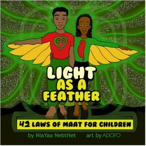 Click for more detail about Light as a feather by Kajara Nia Yaa Nebthet