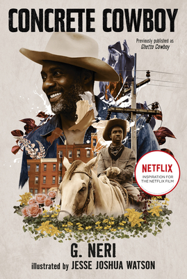 Book Cover Concrete Cowboy: Movie Tie-In (Ghetto Cowboy) by G. Neri