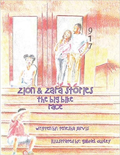 Click for more detail about The Zion & Zara Stories: The Big Bike Race by Tenesha Jarvis