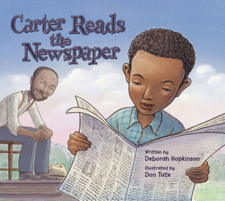 Book Cover Carter Reads the Newspaper by Deborah Hopkinson