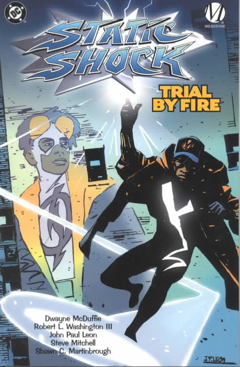 Click for more detail about Static Shock: Trial by Fire by Dwayne McDuffie