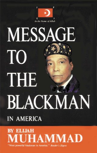 Book Cover Message to the Blackman In America  by Elijah Muhammad