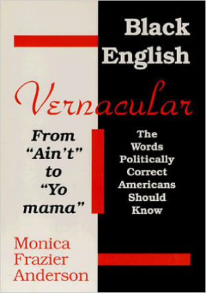 Book Cover Black English Vernacular (From