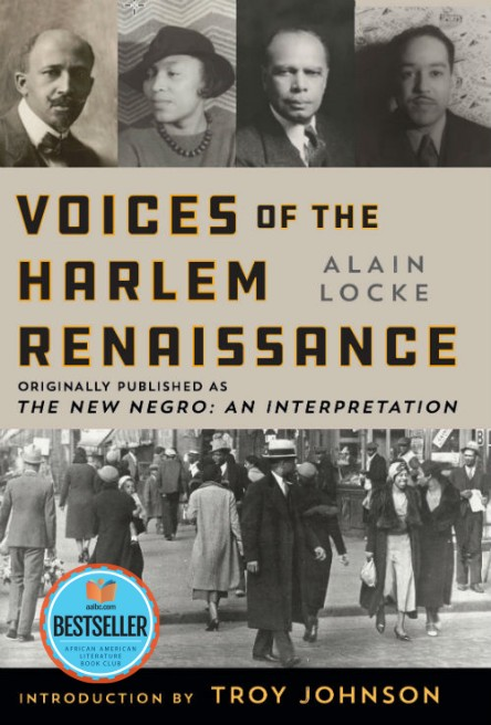 Book Cover: Voices of the Harlem Renaissance: Originally Published as The New Negro an Interpretation Edited by Alain Locke and Introduction by Troy Johnson