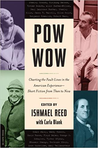 Book Cover Pow-Wow: Charting the Fault Lines in the American Experience - Short Fiction from Then to Now by Ishmael Reed