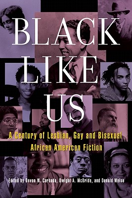 Click for more detail about Black Like Us: A Century of Lesbian, Gay, and Bisexual African American Fiction by Andrew Helfer