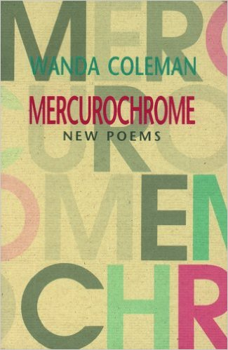 Book Cover Mercurochrome by Wanda Coleman