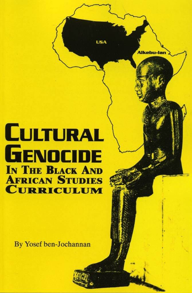 Click for a larger image of Cultural Genocide In The Black And African Studies Curriculum
