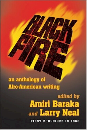 Click for a larger image of Black Fire: An Anthology of Afro-American Writing