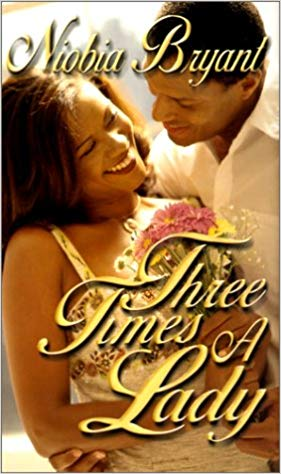 Book Cover Three Times a Lady (Arabesque) by Niobia Bryant