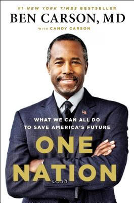 Click for more detail about One Nation: What We Can All Do to Save America's Future by Ben Carson