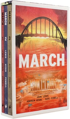 Click for more detail about March (Trilogy Slipcase Set) by John Lewis and Andrew Aydin