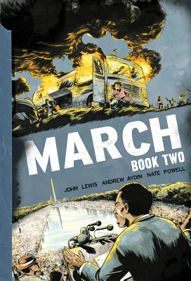 Click for more detail about March Book Two by John Lewis and Andrew Aydin