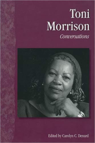 book cover Toni Morrison: Conversations (Literary Conversations Series) by Carolyn C. Denard