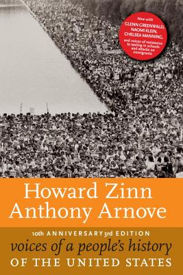 Book Cover Voices of a People's History of the United States, 10th Anniversary Edition by Howard Zinn