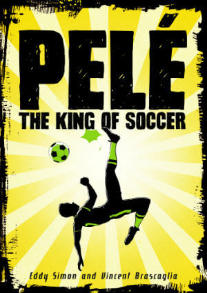 Book Cover Pelé: The King of Soccer by Eddy Simon