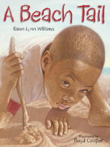 Book Cover A Beach Tail by Karen Lynn Williams