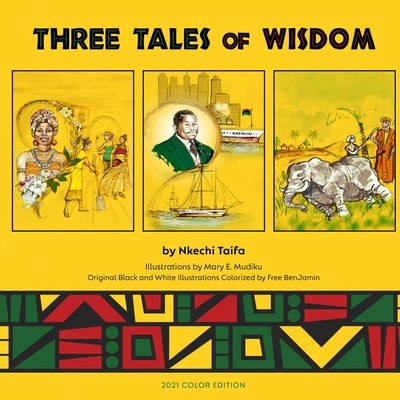 Book Cover Three Tales of Wisdom by Nkechi Taifa