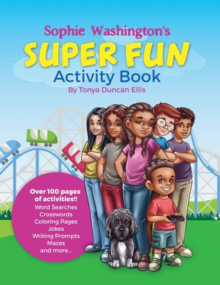 Book Cover Sophie Washington Activity Book by Tonya Duncan Ellis