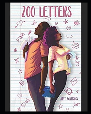 Book Cover 200 Letters by Amy Watkins