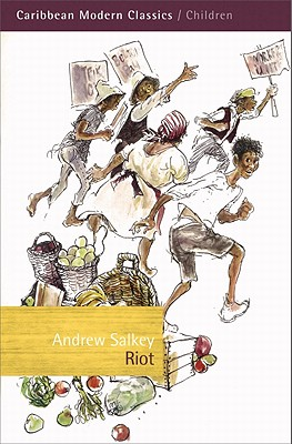 Book Cover Riot by Andrew Salkey