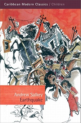 Book Cover Earthquake by Andrew Salkey