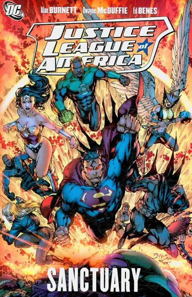 Click for more detail about Justice League of America: Sanctuary v. 4 by Dwayne McDuffie