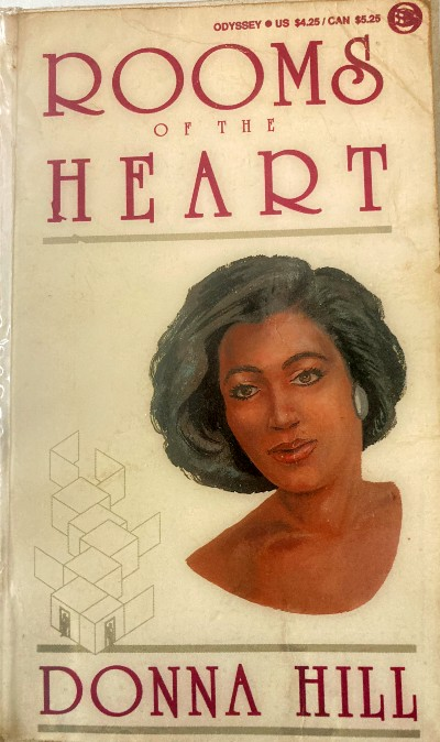 Book Cover Rooms of the Heart by Donna Hill