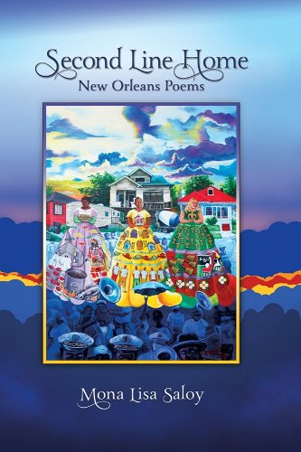 Book Cover Second Line Home: New Orleans Poems by Mona Lisa Saloy