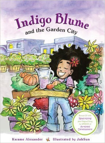 Click for more detail about Indigo Blume And The Garden City by Kwame Alexander