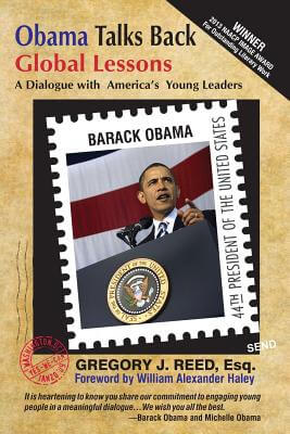 Click for a larger image of Obama Talks Back: Global Lessons - A Dialogue With America's Young Leaders
