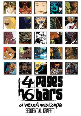 Click for more detail about 4 Pages 16 Bars: Sequential Graffiti by Jiba Molei Anderson