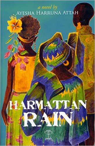 Book Cover Harmattan Rain by Ayesha Harruna Attah