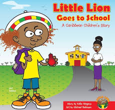 Click for more detail about Little Lion Goes to School by Kellie Magnus
