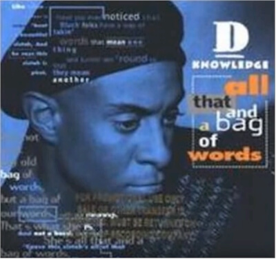 Click for more detail about All That and a Bag of Words by D-Knowledge