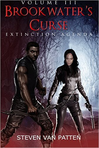 Book Cover Brookwater's Curse Volume Three: Extinction Agenda by Steven Van Patten